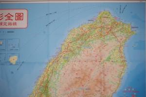 map 1 north Taiwan