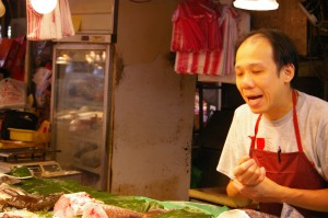 ShiDong 15 fish vendor
