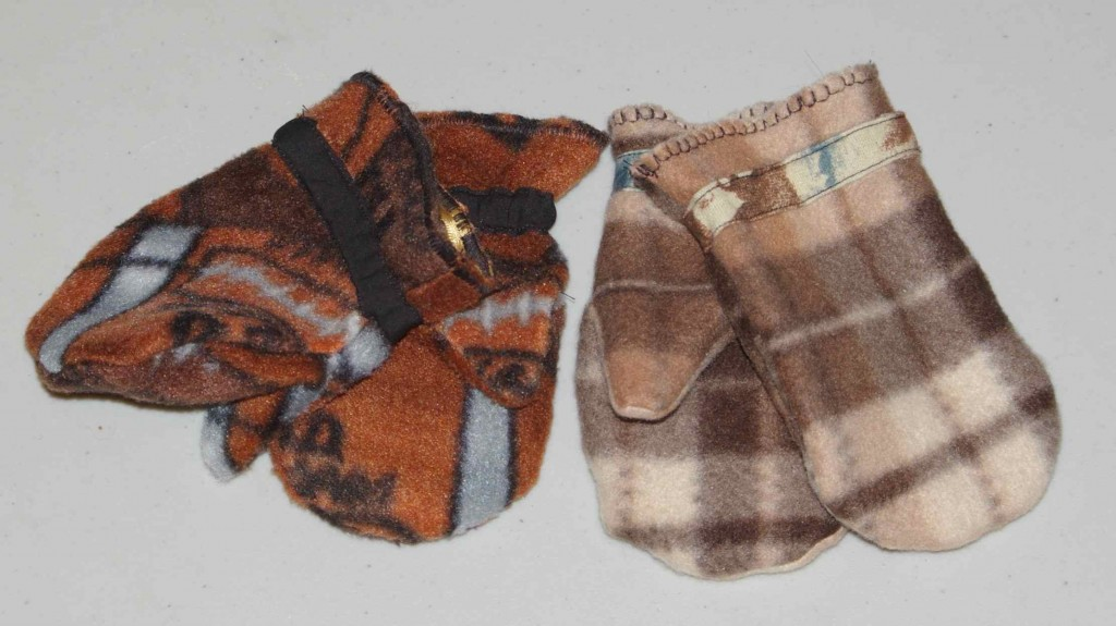 Mini Mittens for the Winter Baby