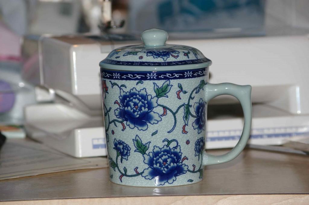 Tea Mug Pin Cushion in a Snap
