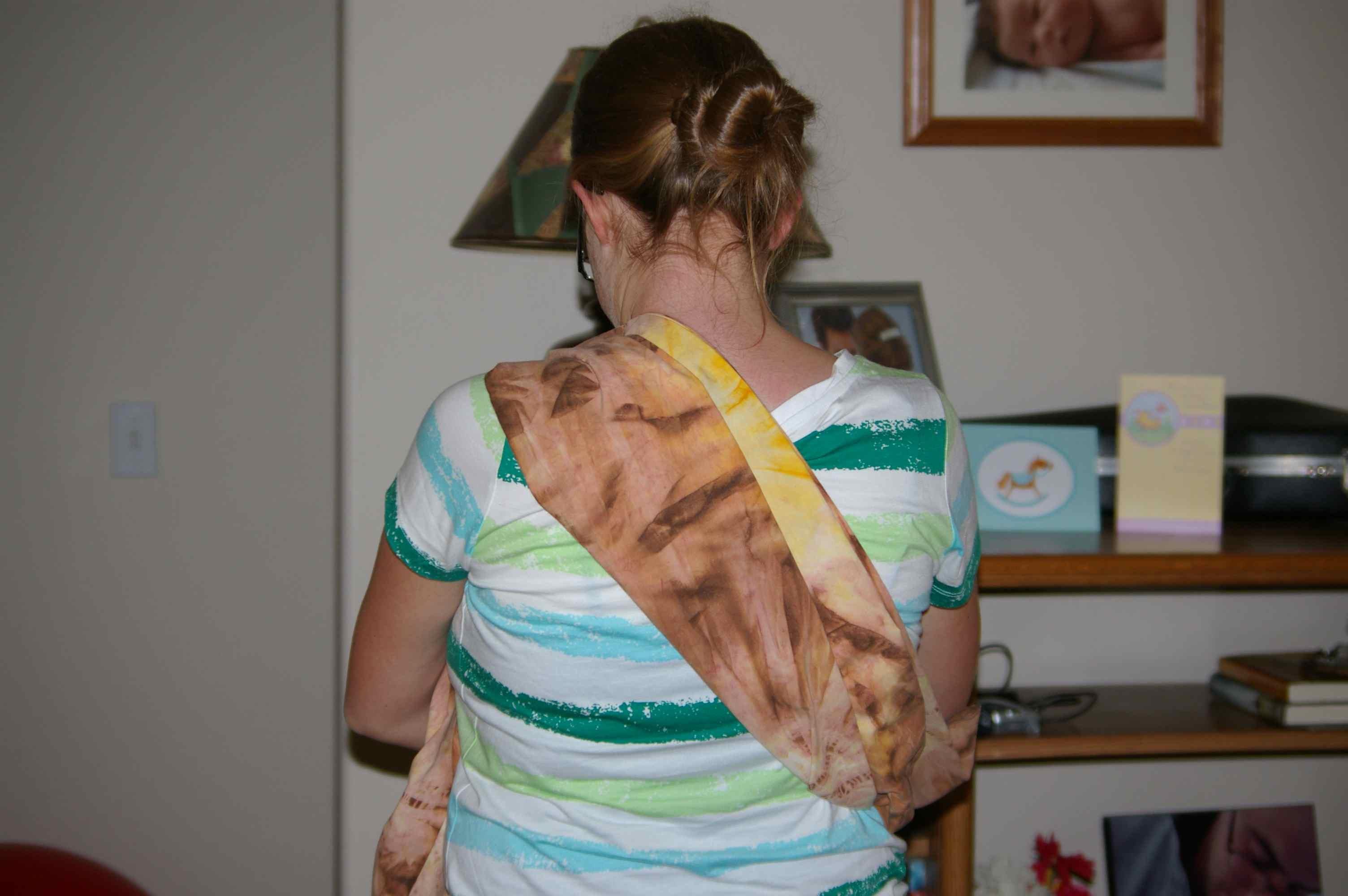 Lulu Makes A Maya Wrap Baby Sling Photo Guide