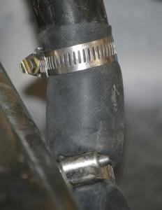 bike tube washing machine drainage plumbing in action