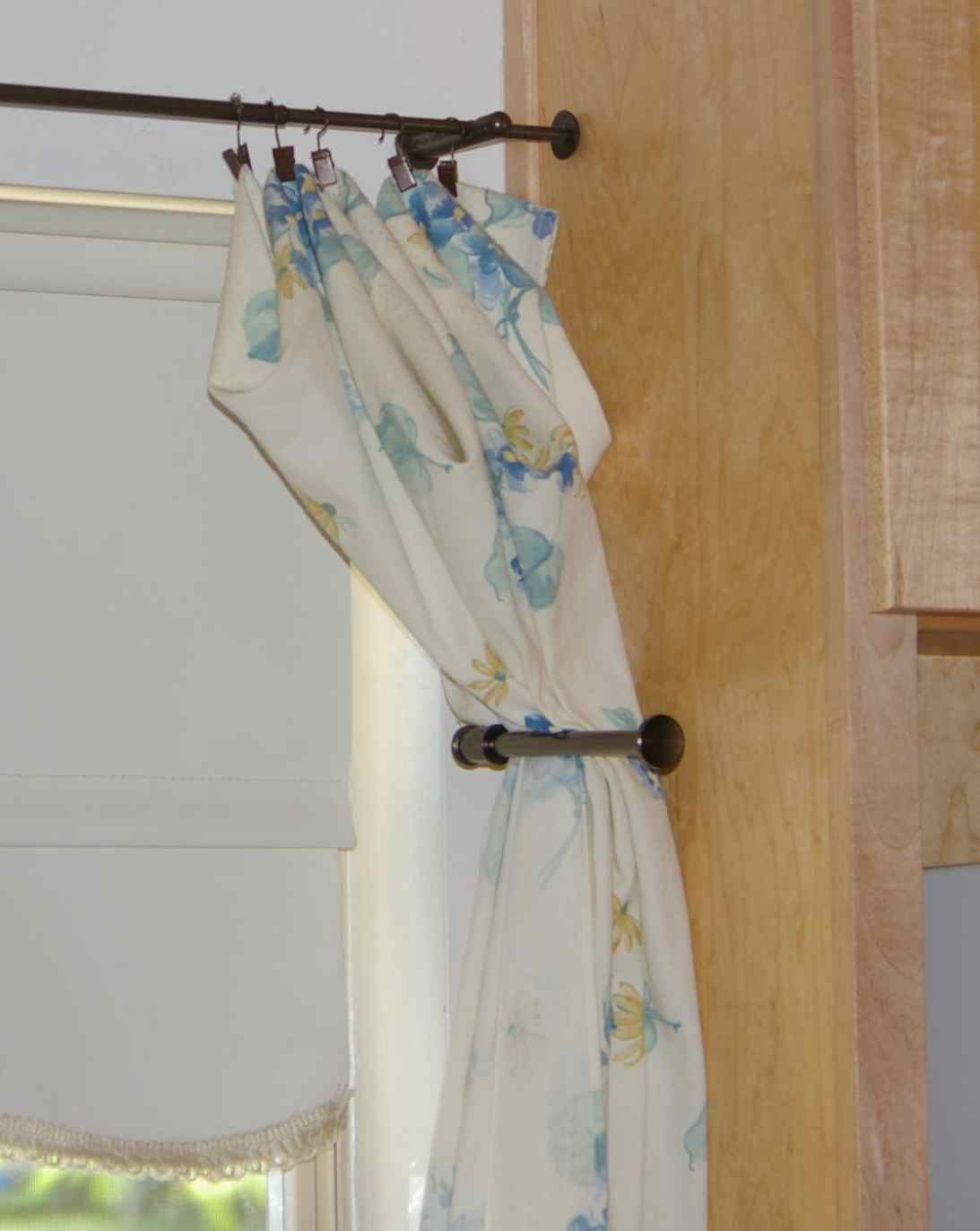 Toilet Paper Holder Curtain Tie Back