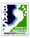 Barefoot Runners Society Stomp of Approval