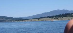 The ripples of Lake Cascade, Idaho