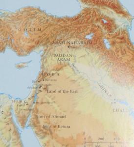 Babel Summit - map of Shinar region