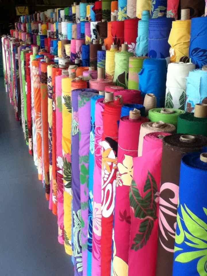 Hawaiian Fabric Brings the Mellow Vacation Mood Home