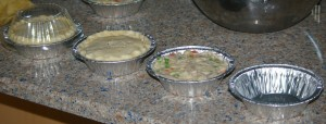 Potpie construction