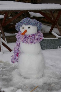 cool weather gardening wardrobe for the fashionable snowlady