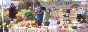 And another produce stand