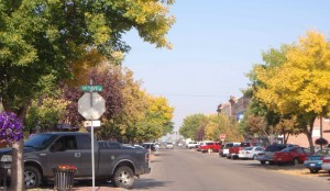 Downtown Nampa fall color
