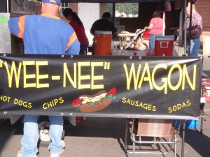 lunch options at the Nampa Farmer's Market