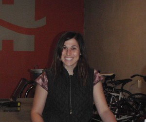 Michelle Haynes, the other owner of Rolling H Cycles