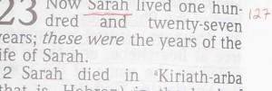 Sarah Hebrew's obituary