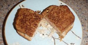 my Reuben sandwich