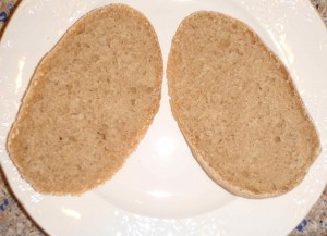 decent crumb inside the Italian sandwich rolls