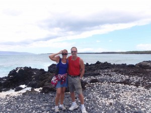 tour members on La Perouse Bay adventure