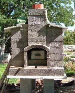 brick oven house