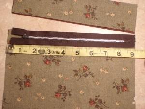 comparing stock zipper to cut pocket