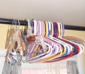 homemade laundry rack