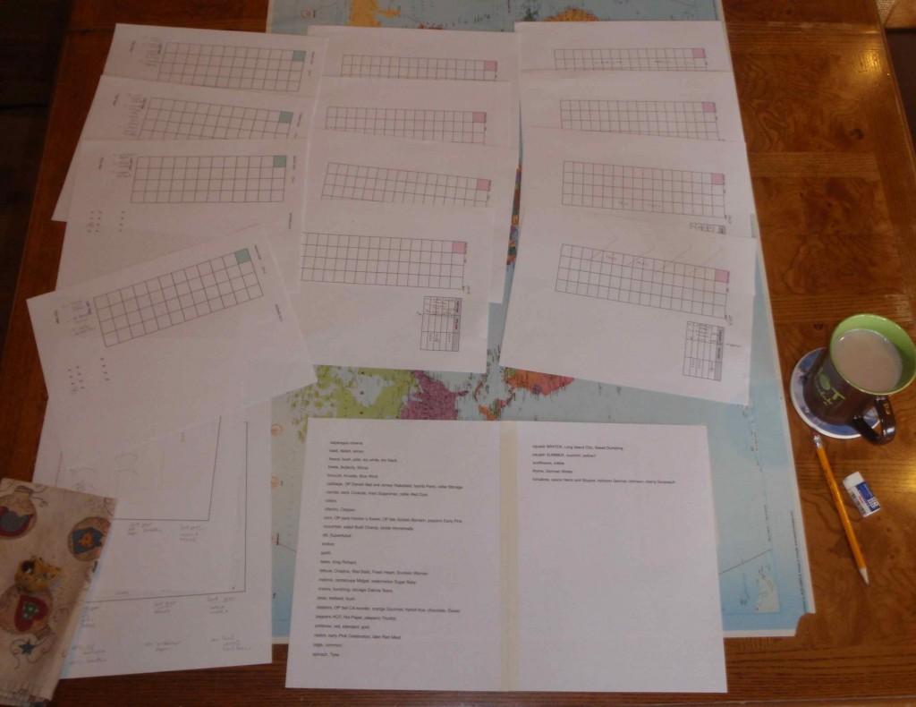 Keeping My Garden Organized with a Portable Garden Chart
