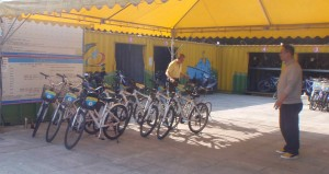 Dadaocheng Wharf bike rental station