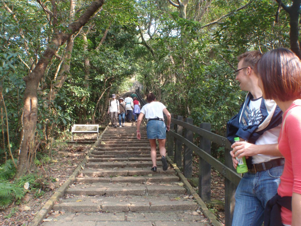 Stair Repeats on Elephant Mountain in Taipei