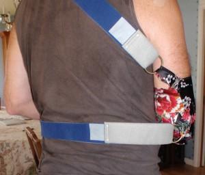 original sling straps work on new silk arm sling