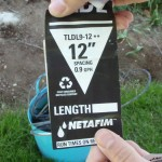 Netafim spacing label