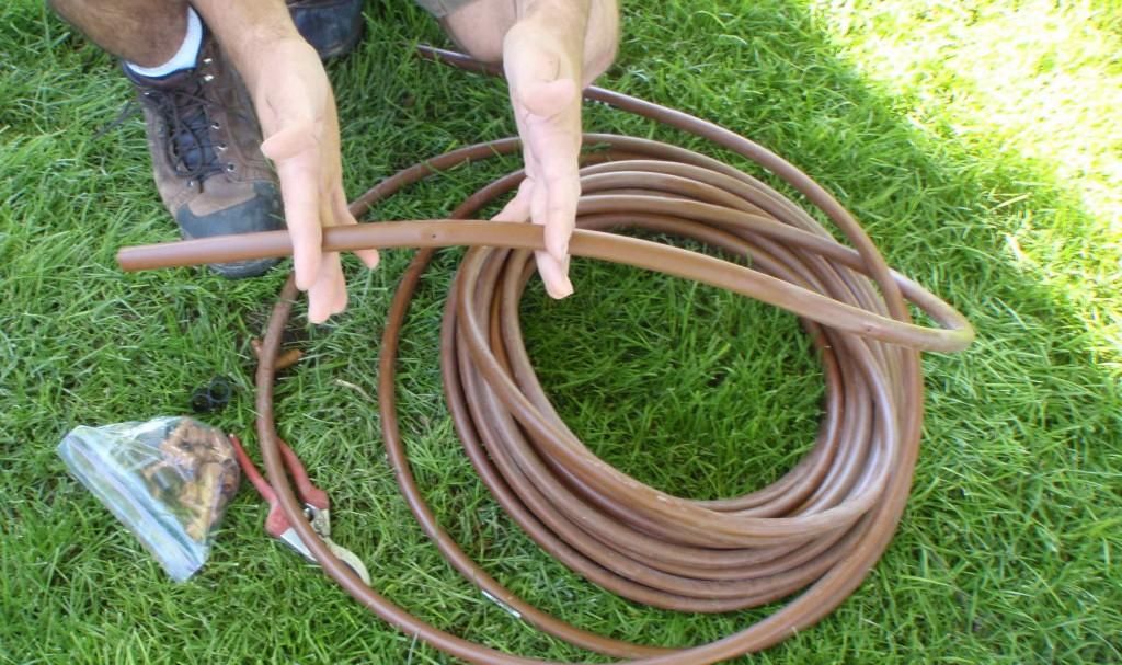 my Netafim tubing has emitters every 12 inches