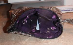 peeking inside the little purse