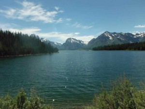 Coulter Bay in Grand Teton National Park