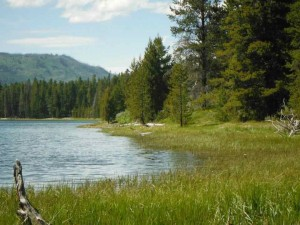 Possibly Heron Lake in Wyoming