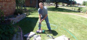 Adam Staigle, owner of Service Electric, hard at work (208-921-3993)