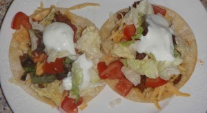 """My tacos are always """"too full,"""" but I manage."""