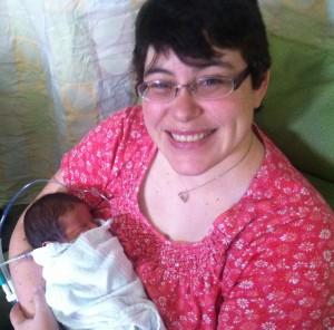 Cori Lou's happy mama