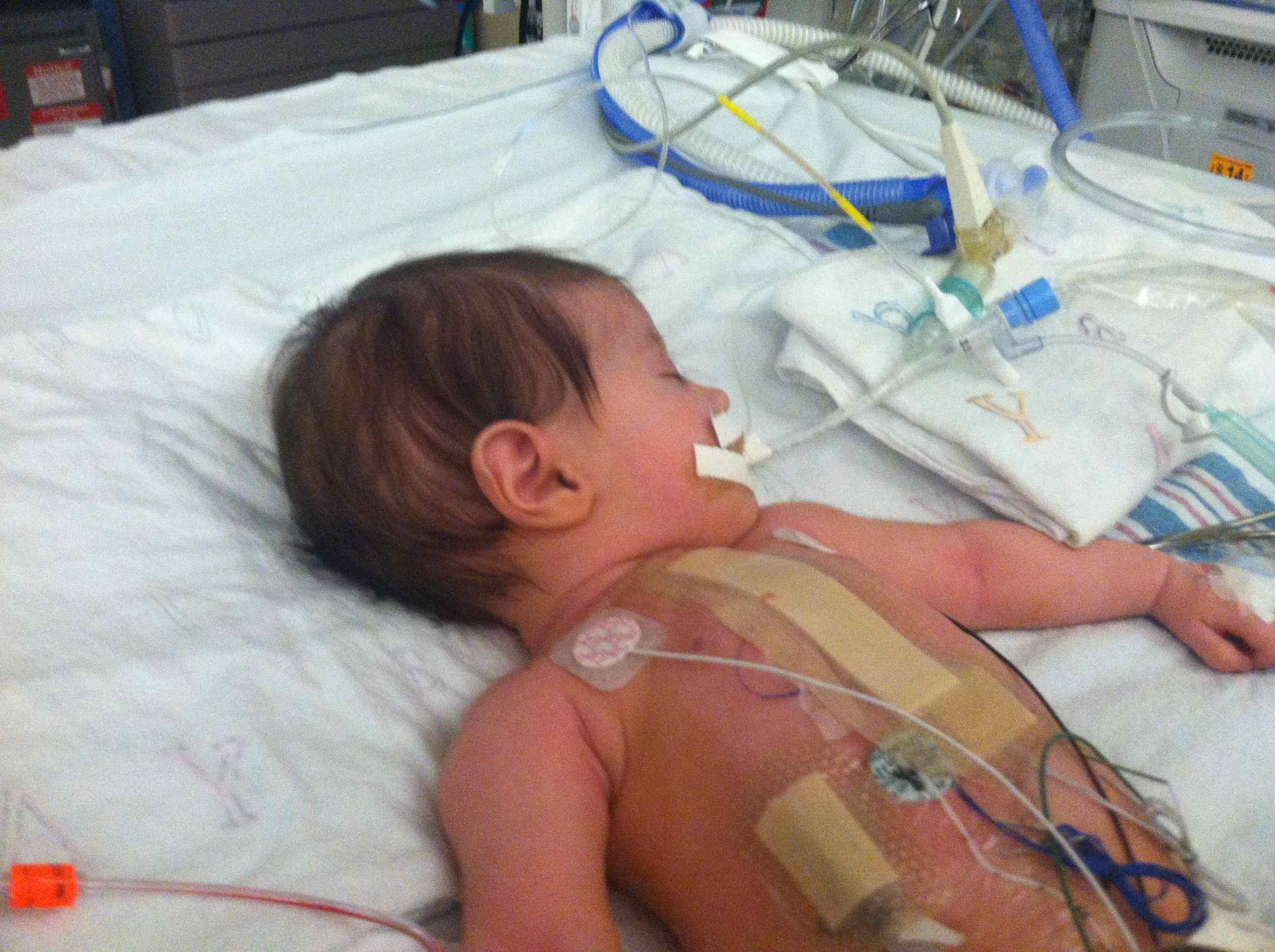 Cori Lou Begins a Well Monitored Recovery After Pediatric ...