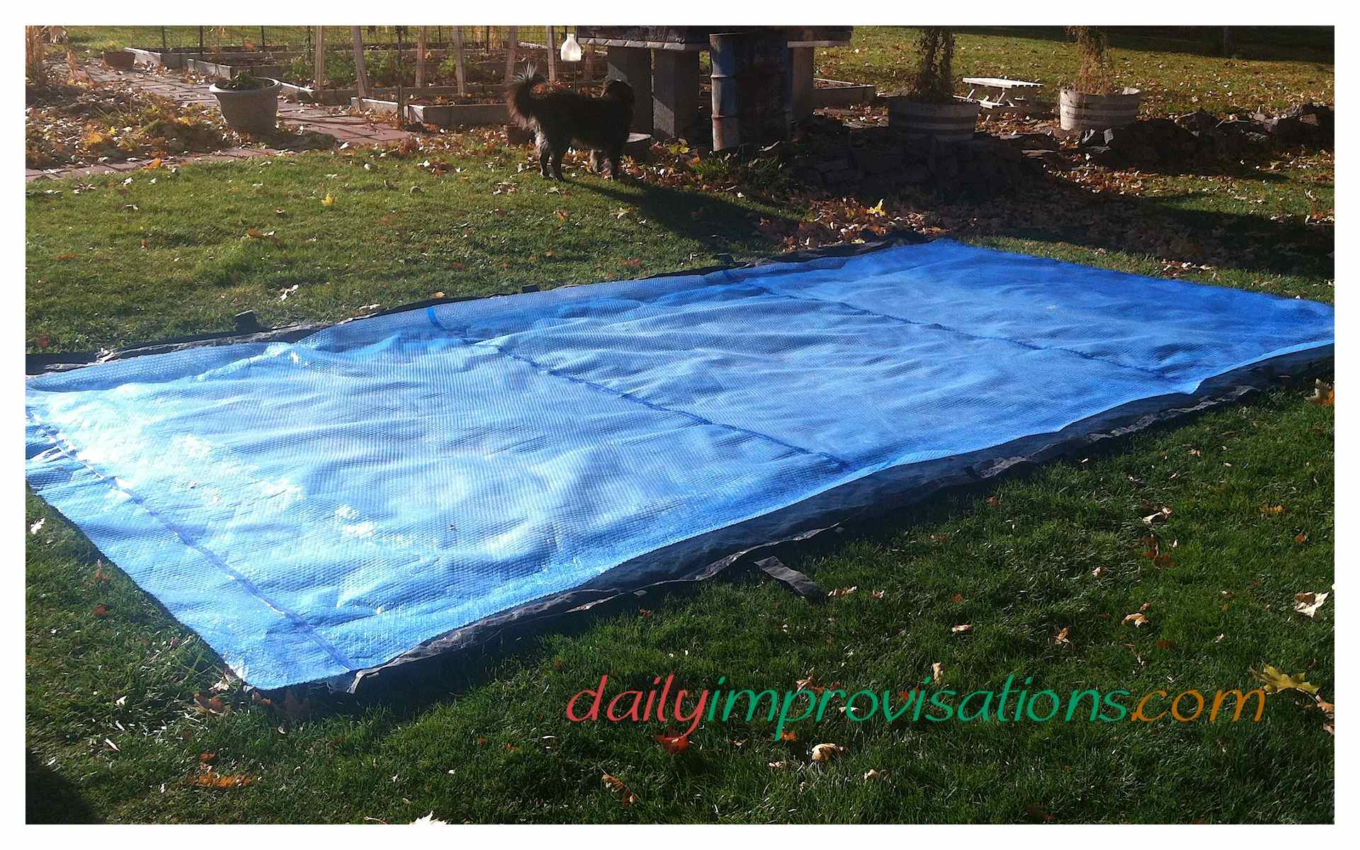 Make A Diy Pvc Pipe Retractable Hand Crank Swimming Pool Cover