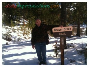 Using the Beaver Creek trail option to look for the Crooked River Trail.