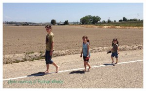 Kids go barefoot for fun and practical reasons!