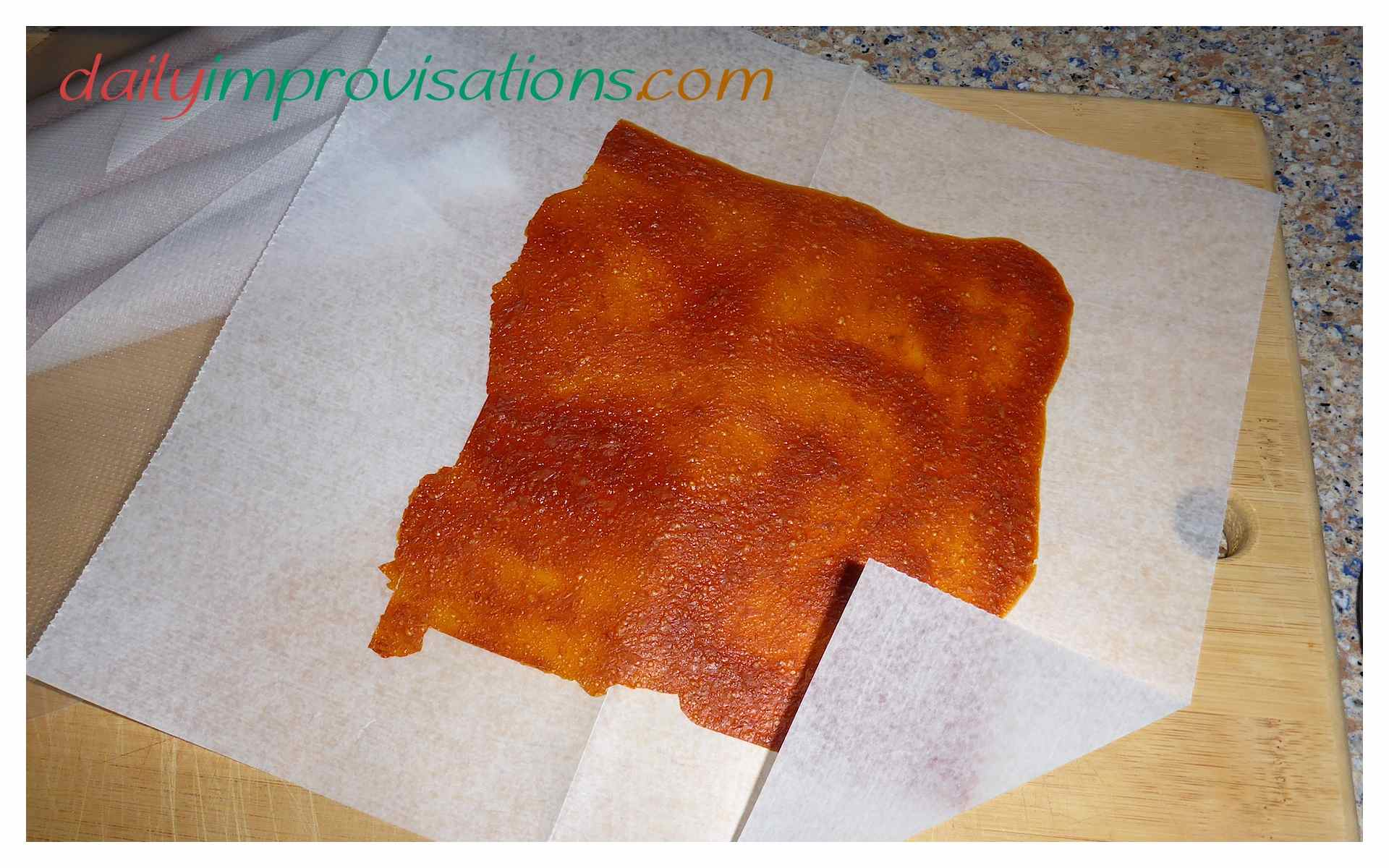 The Best Way to Store Homemade Fruit Leather - Daily Improvisations