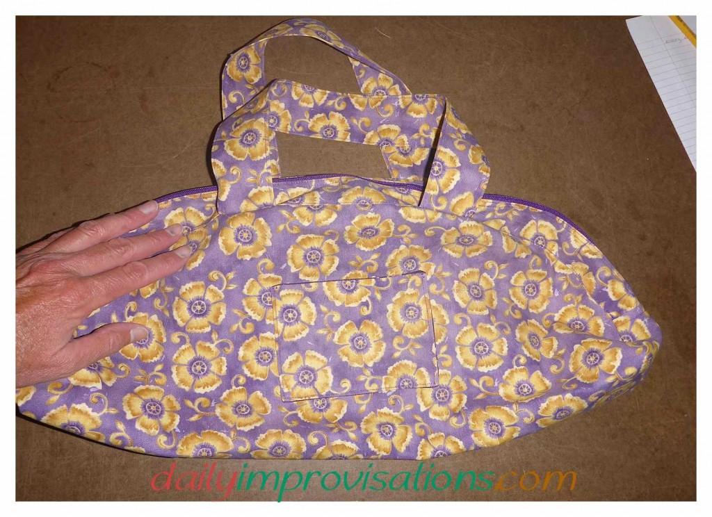 Helpful Hints on How to Sew the One-Yard Wonders Mini Duffle Bag