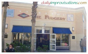 The Fudgery in Orlando, Florida at the outlet mall