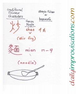 The real way to say Chinese stir fry 炒麵