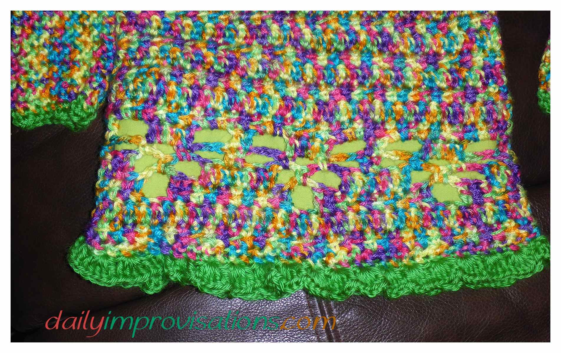 What I Did To Alter A Childrens Basic Crochet Sweater
