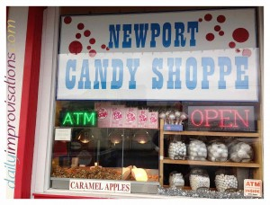 The Newport Candy Shoppe is apparently also known for it's caramel popcorn, but I didn't try any of that.
