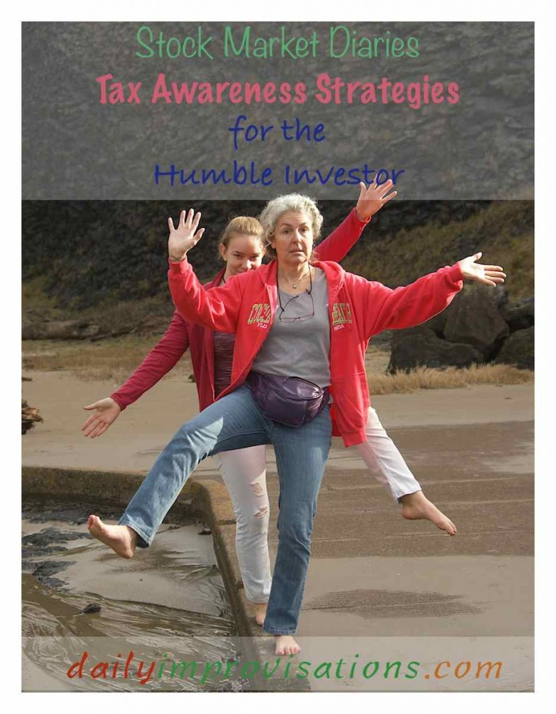 Stock Market Diaries Tax Awareness Strategies for the Humble Investor