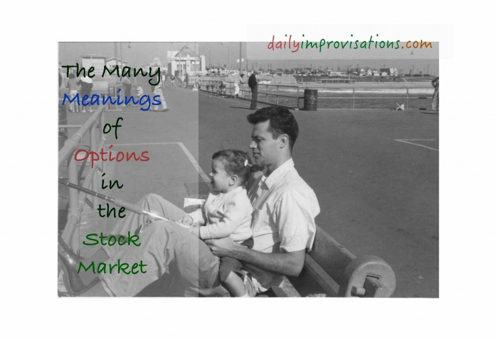 The Many Meanings of Options in the Stock Market