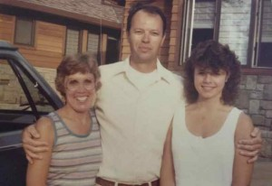 Mom and Dad with approximately 18 year old Alice