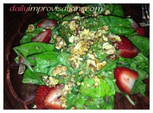 I would go back just for the spinach strawberry salad.